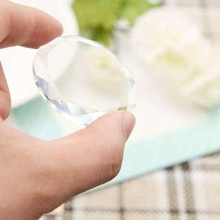 Crystal palette round Glue Extension - Tempat Lem Tanam Bulumata