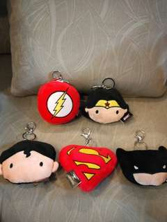 Justice league keyring