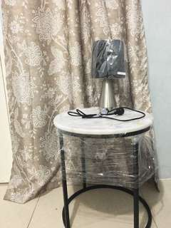 Marble table with FREE lamp