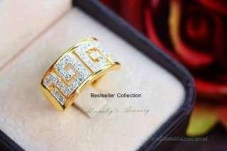 GOLD 916Swiss Ring