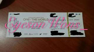 [WTS] Wanna One World Tour in KL Ticket