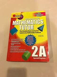 Casco mathematics tutor Sec 2