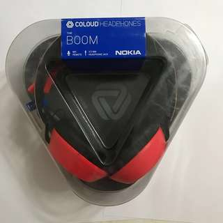 Coloud Headphones The Boom colab with Nokia