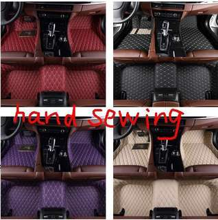 5D custom Car Mats diamond Hand Sewing design