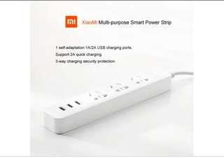 Xiaomi Power plug 3x socket 3x USB 2A ports