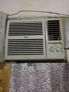 1hp Haier air-con window type