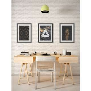 Three Black Abstract Prints