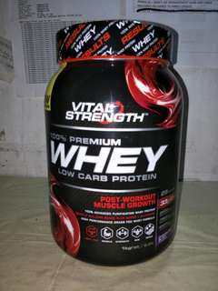 Vital Strength 100% Whey Protein Powder 1KG (Chocolate flavor)