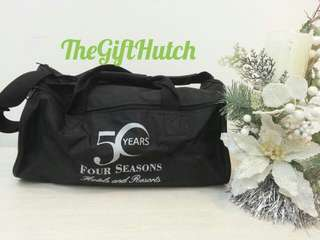 *NEW COLLECTION SERIES* Gym bag Four seasons Hitam bahan ringan