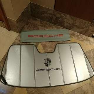 正廠Porsche Sunshade 太陽擋