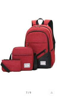 3in1 Bag Pack, Sling, Pouch