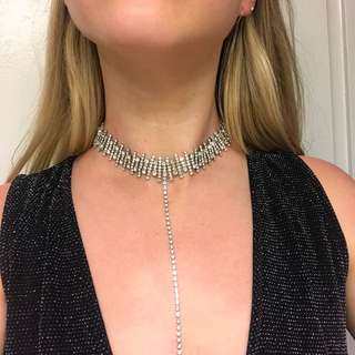 REDUCED Sparkly dress and choker