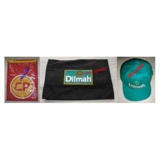 1 Pc CP Apron + 1 Pc Dilmah Apron + 2 Pcs Dilmah Baseball Cap - New
