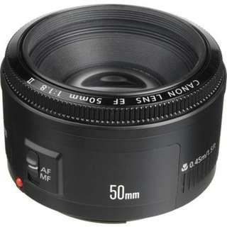 50mm 1.8 Canon