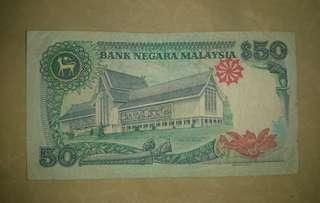 Duit Lama RM50 (6th series)