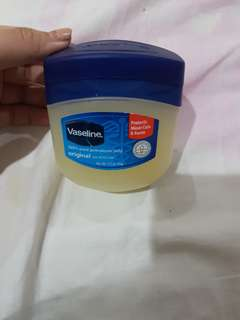 vaseline petrolium jelly 106gr, 95% full