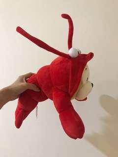 紅色蝦猴玩偶