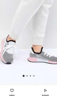 🚚 全新 正品 Adidas Originals Deerupt 38號 UK5 愛迪達 網狀 運動鞋 慢跑鞋 休閒鞋 球鞋
