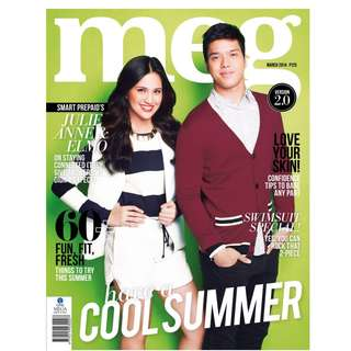 Meg magazine March 2014 Julielmo