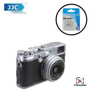 JJC SRB-C11S Silver Metal Soft release button finger touch Fujifilm X-PRO2 X-E2S X10 X20 X30 X100T X-T1 X100 X100S X100T X-E1 X-E2 XPRO-1 SXT-2 Nikon Df M2 F3 Sony RX1R II RX10 II Canon F-1 AE-1 Leica M1 M2 M3 M6 M7 M8 M9 M-E M-P M9-P M-E M-P M-A