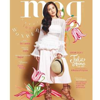 Meg magazine March-April 2016 - Julie Anne San Jose
