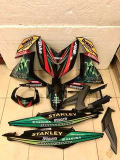 ---Body Cover Set Original HLY For Yamaha Y15ZR