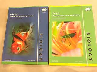 Biology o-level challenging drill questions (yellow reef)
