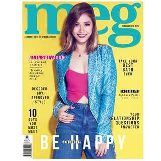 Meg magazine February 2014 Maja