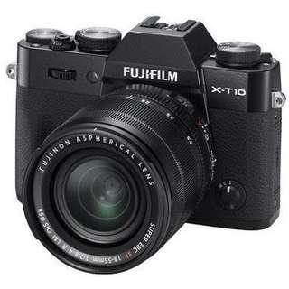 FUJIFILM XT10 KIT 18-55mm lens RUSH!!!!!