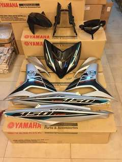 ---Body Cover Set Original HLY For Yamaha Y15ZR--