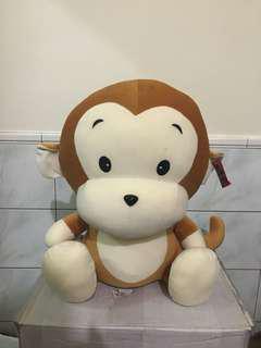 🚚 全新 可愛猴子大娃娃