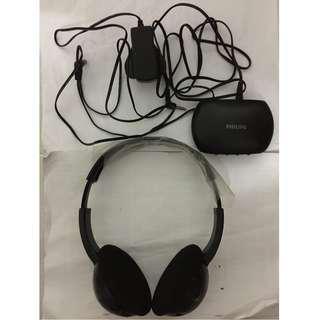 Philips Wireless Hi-fi Headphones SHC1300/30
