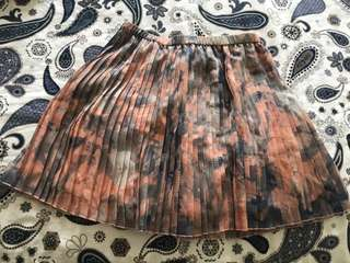 BCBG generation pleated skirt