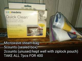Medela micro steam bag