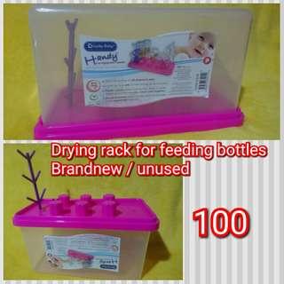 Drying rack for feeding bottles