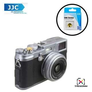 JJC SRB-C11DGD Gold Dark Goldenrod Metal Soft release button finger touch Fujifilm X-PRO2 X-E2S X10 X20 X30 X100T X-T1 X100 X100S X100T X-E1 X-E2 XPRO-1 SXT-2 Nikon Df M2 F3 Sony RX1R II RX10 II Canon F-1 AE-1 Leica M1 M2 M3 M6 M7 M8 M9 M-E M-P M9-P M-E