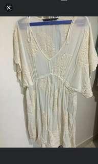 Zara bordil dress