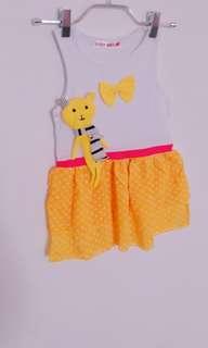 🚚 黃點洋裝