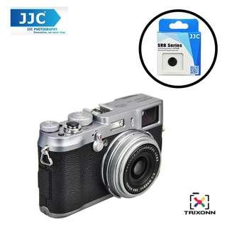 JJC SRB-C11BK Black Metal Soft release button finger touch Fujifilm X-PRO2 X-E2S X10 X20 X30 X100T X-T1 X100 X100S X100T X-E1 X-E2 XPRO-1 SXT-2 Nikon Df M2 F3 Sony RX1R II RX10 II Canon F-1 AE-1 Leica M1 M2 M3 M6 M7 M8 M9 M-E M-P M9-P M-E M-P M-A