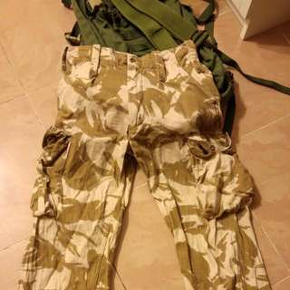 🇬🇧➡🇭🇰 British Army DDPM Trousers 💂