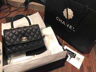 二手Chanel Coco Handle 24cm