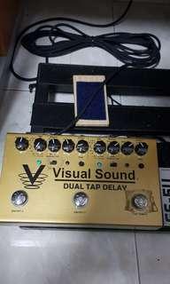 DUAL TAP DELAY Visual Sound