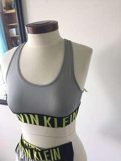 Calvin Klein bra and undies set