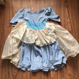 Frozen inspired costume dress