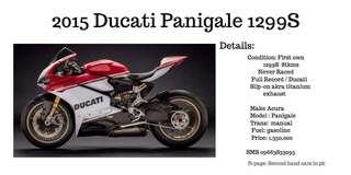 Ducati motor race