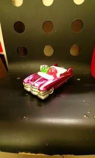 全新M&M's汽車陶瓷糖果盤