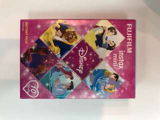 Fujifilm 拍立得 富士即影即有相紙 迪士尼公主Disney princess 49hkd/box