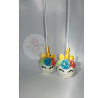 Unicorn cakepop