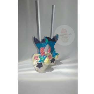 Mermaid cakepop