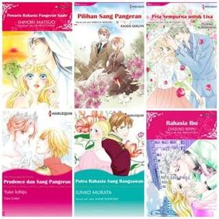 Paket Ebook Komik Harlequin Terjemahan 14